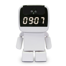 Maxde 960P HD IP Camera Wi-Fi Home Security Robot Camera with Clock Remote Control Night Vision Support SD Card