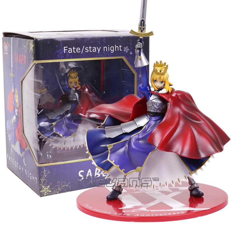 Fate stay night Saber Arturia Pendragon PVC Figure Collectible Model Toy 31cm<br>