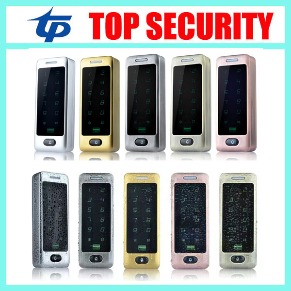 5pcs a lot standalone access control card reader single door surface waterproof door access controller RFID card access control<br>