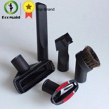 plastic 6 in 1 vacuum cleaner nozzle set for 32mm or 35mm kit of floor brush and nozzles cleaning tool