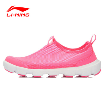 Li-Ning Women's Outdoor Aque Shoes Quick Dry Sneakers Footwear Breathable Comfort Sports Shoes AHLL006 YXB025