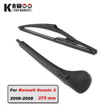 KAWOO Car rear wiper blade blades back window wipers arm for Renault Scenic 2 Hatchback (2006-2008) 275mm auto Windscreen blade