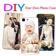 DIY Design Customized Printed Custom Photo LOGO Plastic Hard Cell Phone Case Cover For Huawei Honor 4A 3 3C G750 P1 Y530 P7 Mini