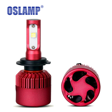 Oslamp Cree SMD Chips H7 Led H4 Car Headlight 9600lm 6500K Automobile 9005/9006 Front Car Bulbs H11 Fog Lamps HB3/HB4 G9 Series