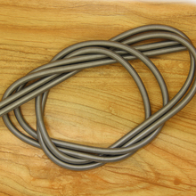 Customized stainless steel long coil compression spring spiral retractable spring for parachute,0.5*6*1000mm, MHS-S52