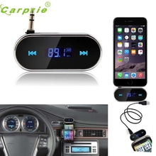 Pretty  Hot Sale Dropshipping Practical Car Kit Wireless FM Transmitter MP3 Player USB SD LCD Remote Handsfree nr25