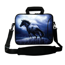 "Viviration Horse Style Hot 15.4 15.6"" Inch 15"" Notebook Messenger Carry Bag New Computer Accessories Laptop Shoulder Strap Bags"