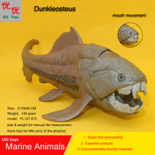 Hot toys Dunkleosteus Simulation model Marine Animals Sea Animal kids gift educational props  (Delphinidae ) Action Figures
