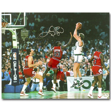 Michael Jordan Larry Bird Basketball Art Silk Fabric Poster Print 13x16 24x30 inch Sport Pictures for Living Room Wall Decor 058
