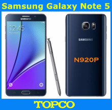 "Samsung Galaxy Note 5 N920P Sprint Version Original Unlocked GSM Android Mobile Phone 4GB 32GB ROM Quad-core&Quad-Core 5.7"" 16MP"