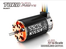 Toro X8 V2 Brushless 6-Pole Sensorless Motor 1/8 RC Car Buggy 2100KV 7T