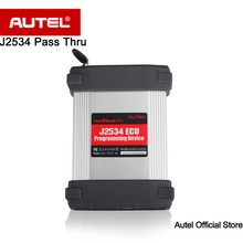 Autel MaxiFlash Pro J2534 ECU Programming Device J2534 Passthru Reprogramming Device Read and Clear Diagnostic Trouble Codes