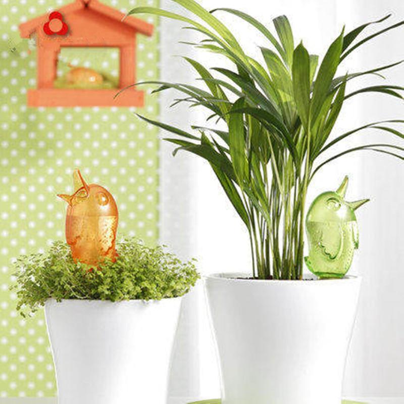 1-Pc-Bonito-Lovely-Birds-Em-Vasos-de-Interior-Planta-Flor-Dispositivo-Autom-tico-de-Rega