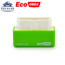 DHL Free Shipping 30pcs/lot EcoOBD2 Benzine Car Chip Tuning Box Plug and Drive OBD2 Chip Tuning Box Lower Fuel Eco OBD2(China)