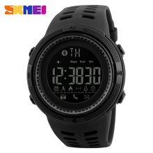 SKMEI Remote Camera Smart Watch Pedometer APP Call Remind Smart Wristband Sleeping Monitor Men Smartwatch For Android IOS 1250(China)