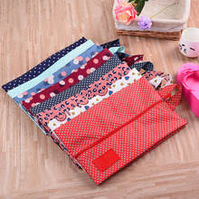 2pcs  Fashion Designs Shoe Bag Oxford Zipper Shoe Bag for Travel and Home Storage