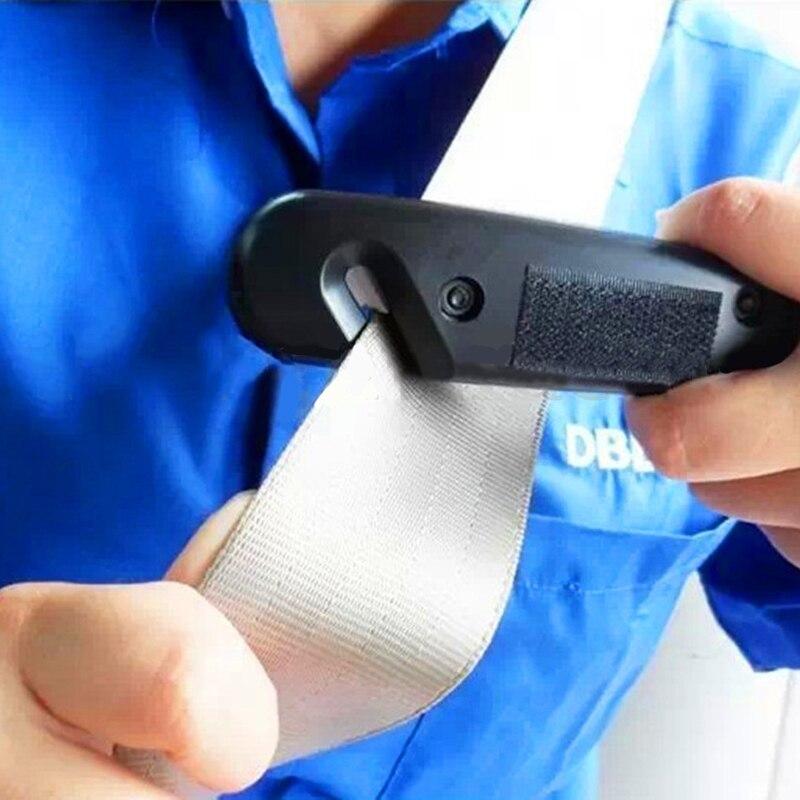 Mini Car Safety Hammer Emergency Car Hammer Car Window Breaker Glass Breaker Seatbelt Cutter for Car Rescue Tool