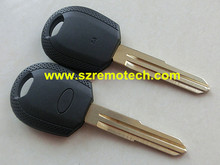 5pcs/lot Free Shipping Replacement Transponder Key Blank Shell Fob Right Blade For Kia Picanto Sportage 2002 - 2009 Blank