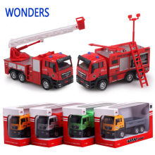NEW  carrier vehicle garbage truck agitator truck fire fighting truck  car transport vehicle model toy gift for boy children