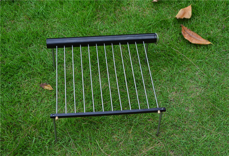 WOS    Portable  charcoal  Stainless steel Camping mini  BBQ  Grill for backpacking<br><br>Aliexpress