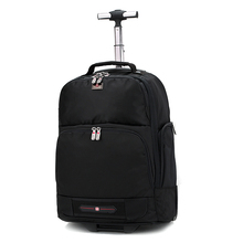 New Fashion Hot Black Oxford Trolley bag 18 inch Men and Women Business Boarding Bag Rolling Carry On Luggage Trunk Box Suitcase