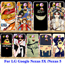 Silicon Hard PC Case Cover For LG Google Nexus 5X 5 8 Nexus5X G3S G3 Mini G3 Beat S D724 X Cam K580 Skull Head Housing Shell Bag