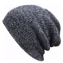 2017 Fashion Beanies Solid Hat Warm Soft Beanie Skull Cotton Cap Hats Knitted Touca Gorro Caps For Men Women Bonnet Hip Hop Hats