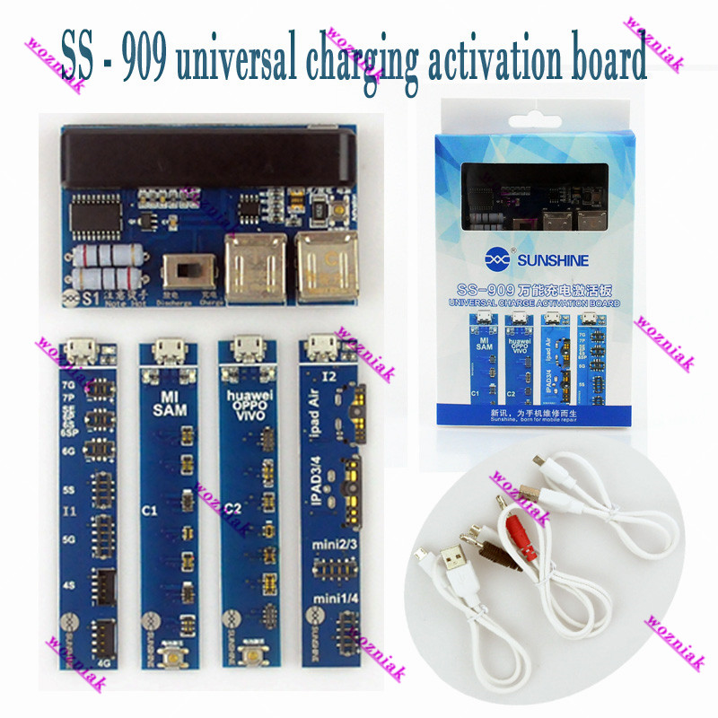 Wozniak universal deciated Power Current Test Cable Battery Activation Charge Board for iPhone for android phone <br>