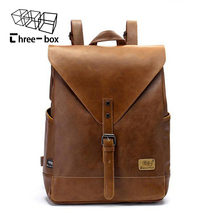 2017 Hot! Women fashion backpack male travel backpack mochilas school mens leather business bag large laptop shopping travel bag()