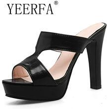 7d9dd2f738b black white fashion summer ladies shoes super high prom shoes thick heel  platform women high heels