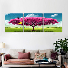 Wall Art Pictures HD Prints On Canvas Home Decor As Gift Wall Decor For Living Room Artical Big Tree Just Like Protection Life
