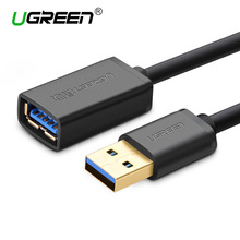 Ugreen USB 3.0 Cable Super Speed USB Extension Cable Male to Female 0.5m 1m 1.5m 2m 3m USB Data Sync Transfer Extender Cable
