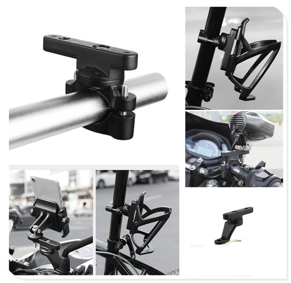 Motorcycle bicycle accessories multi-function extension rod bracket for Aprilia CAPANORD 1200 Rally ETV1000 V4R FactoRy