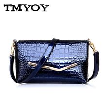 TMYOY 2017 Brand geniune patent Leather Bags For Women Handbags Clutch Women Shoulder Crossbody Bags Women Messenger Bags DB5157