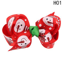 New 1PC Christmas Girl's Hair Clip Infant Hairpin Children Hair Accessories drop Shipping High Quality drop Shipping(China)