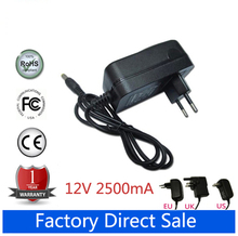 12V 2.5A 30W Tablet Power Supply Adapter Wall Home Charger for Cube i7 i9(China)