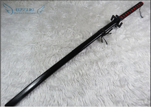 Newest High Quality Bleach Kurosaki Ichigo Zanpakutou Katana Prop Samurai Sword Weapon Wooden Blade 120CM Cosplay Prop(China)