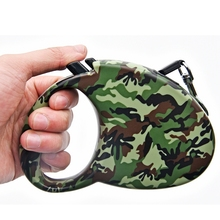 Retractable Auto Dog Leash Camouflage Color Pet Leashes Puppy Dog Cat Leash 3M Pet Chain Less Supplies Animal Leashes(China)