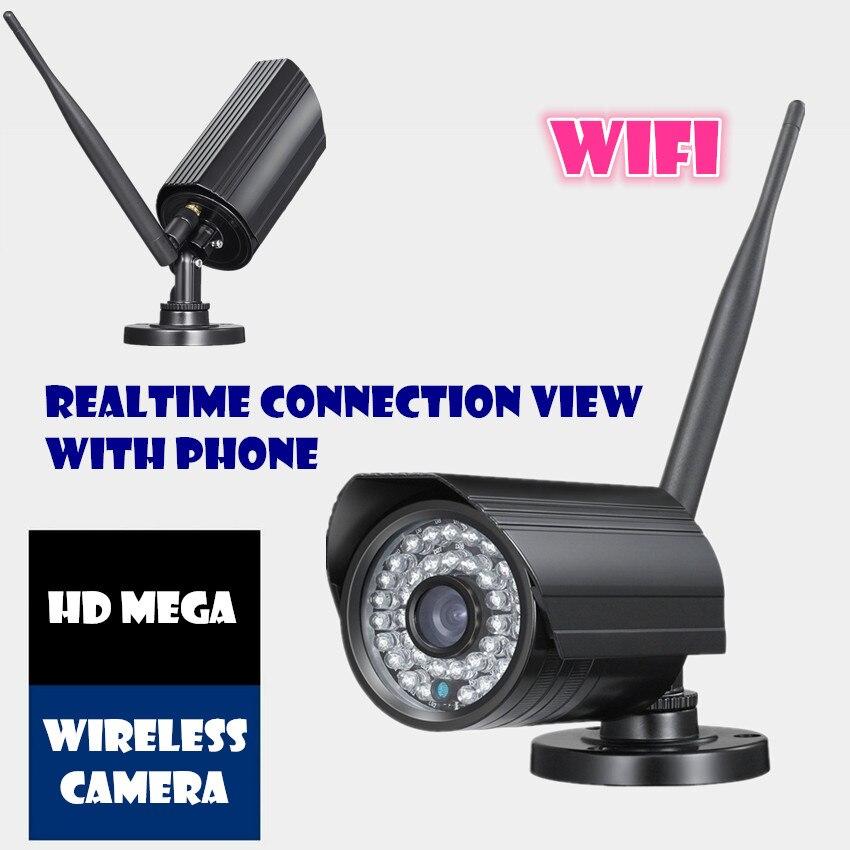 Wireless IP Camera 720P  Wifi HD  waterproof outdoor CCTV CAMERA surveillance video recorder system <br><br>Aliexpress