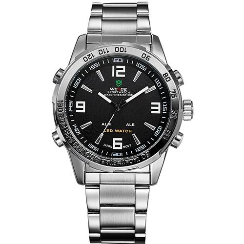 Relogio Masculino WEIDE Luxury Brand Watches Mens Quartz Men Hour Analog Digital LED Sports Watch Men Army Military Wrist Watch<br><br>Aliexpress