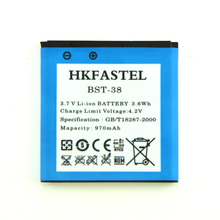 Battery BST-38 BST38 For Sony Ericsson C510 C902 C905 Yendo W150 W580 W580i W760 W902 W980 W995 W995a Jalou F100 970mAh(China)