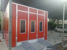 Car And Pickup Truck Paint And Drying Spray Booth with good market oversea(China)