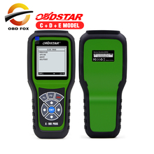 2017 Top selling OBDStar Auto Key Programmer X100 PROS C + D +E model x-100 pros Odometer correction tool free shipping(China)