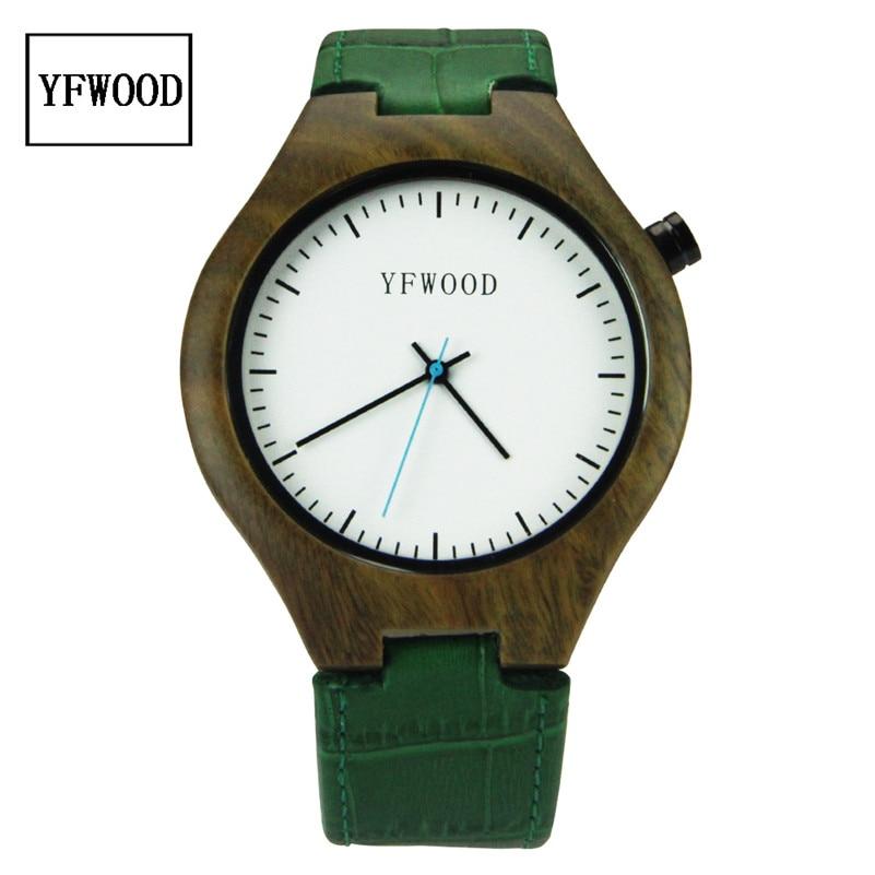 Casual Nature Wood Bamboo Genuine Leather Band Wrist Watch Sport Novel Creative Men Women Analog Relogio Masculino<br><br>Aliexpress