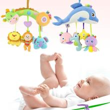 Buy Baby Toys Rattles Toy Plush cartoon animal Crib & Stroller hanging Toy Set Educational Toys Rattles Kids Xmas gift R4-36H for $13.52 in AliExpress store