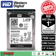 Western Digital WD Black 1TB hdd 2.5 WD10JPLX SATA 3 laptop internal sabit hard disk drive interno hd notebook harddisk disque(China)