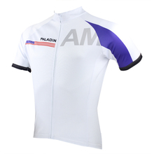 2017 PALADIN Cycling Jersey USA/RUS/UK/FR/AUS/CANADA Top Bike Team white Clothing Shirt Bicycle Outdoor Breathable  Sportswear