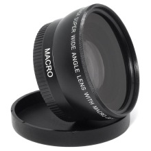 Buy 55MM 0.45x Wide Angle Lens + Macro Lens Sony Alpha A77 A280 A290 A380 A390 A580 A590 DSLR Camera Free for $14.85 in AliExpress store