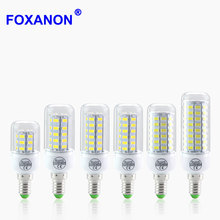 Lampada E14 Corn Led Bulb 5730 LED Light 220V CFL7W 11W 12W 15W 18W 20W Night Candle lamp 24 36 48 56 69 72Leds Lighting(China)