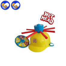 A TOY A DREAM New Wet Head Hat Water Game Challenge Jokes & funny Roulette Game toys Gags & Practical Best Gifts Toys For Kids